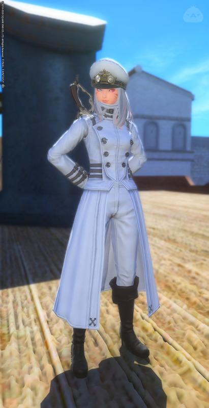 アニメチック風な海上自衛隊の軍服