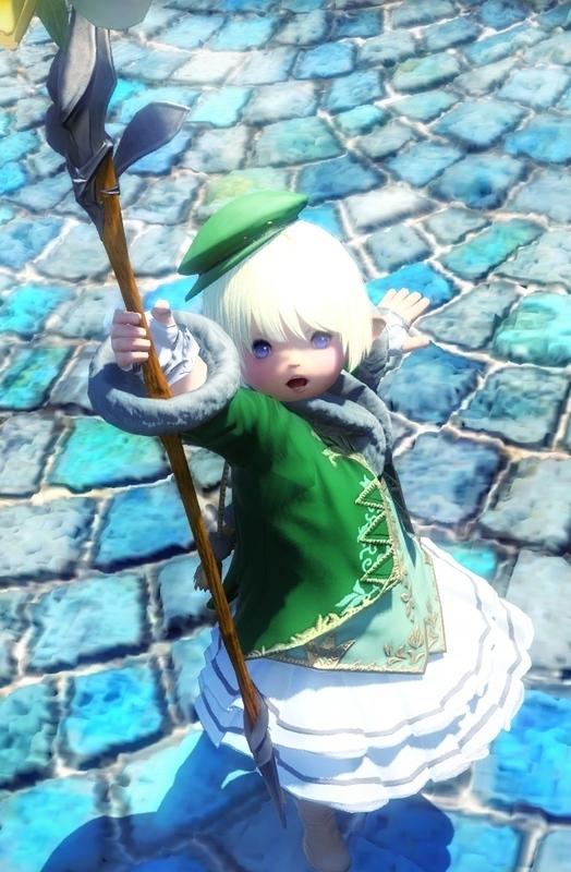 緑魔導士と言い張る白魔道士