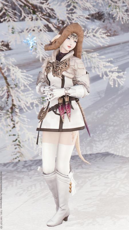 雪国の淑女