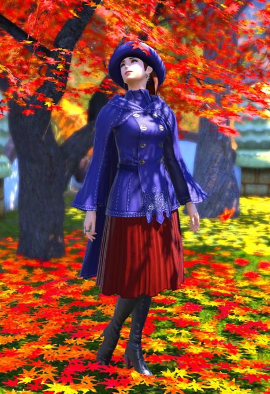 タチノで秋コート