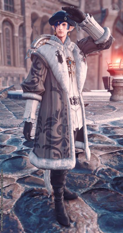 貴族の冬コーデ