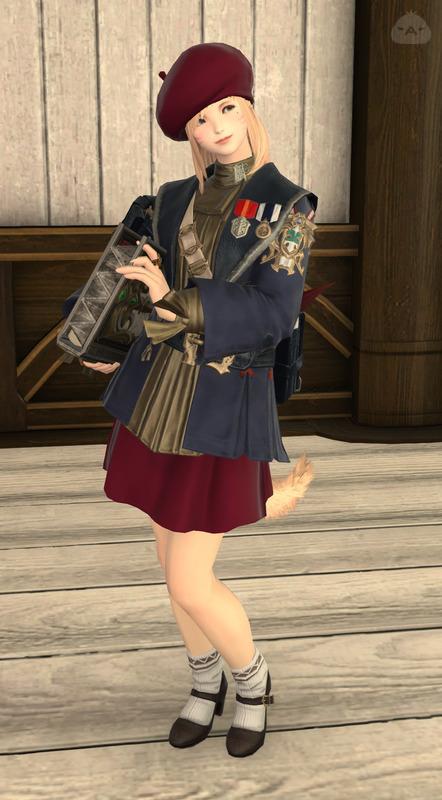 学ちゃん秋の制服