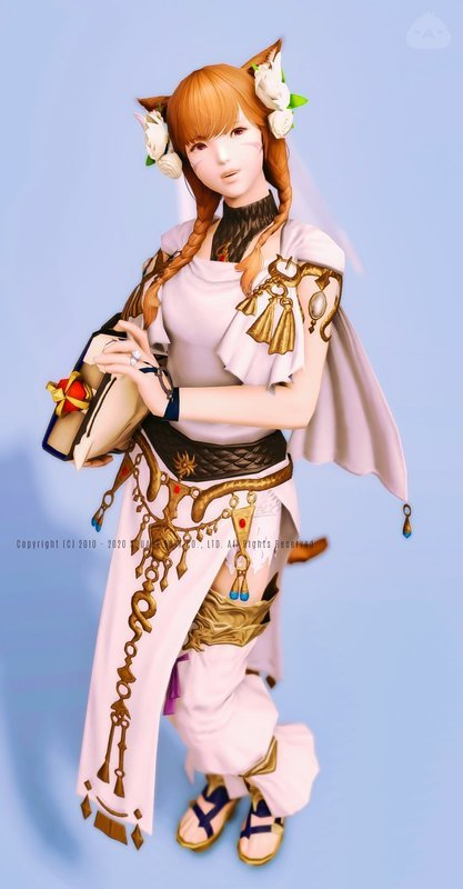 召喚士の花嫁衣裳