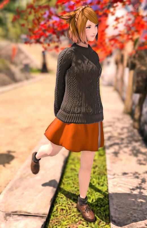 ちょっぴりセレブな秋色コーデ