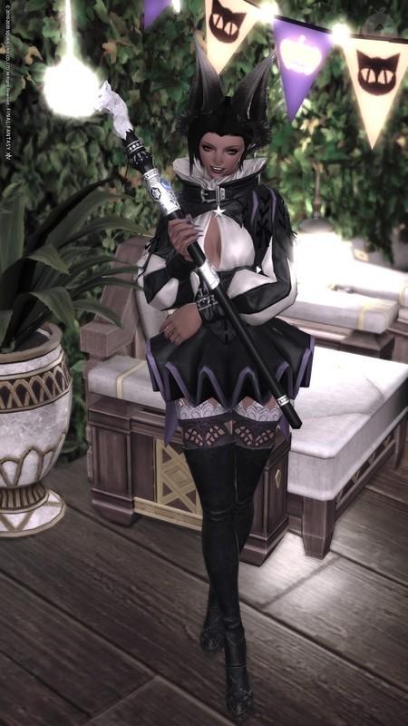 魔女もミニスカ履きたい