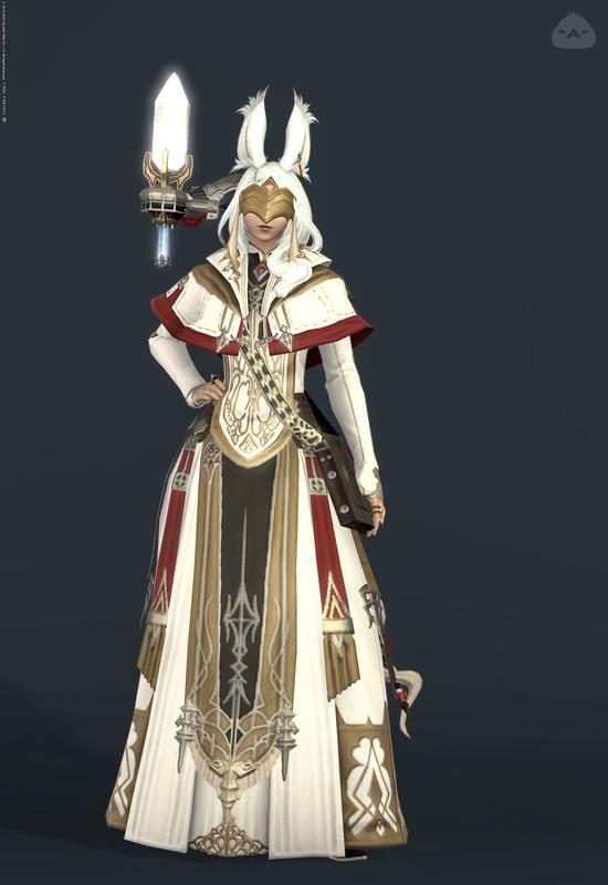 金糸の修道服