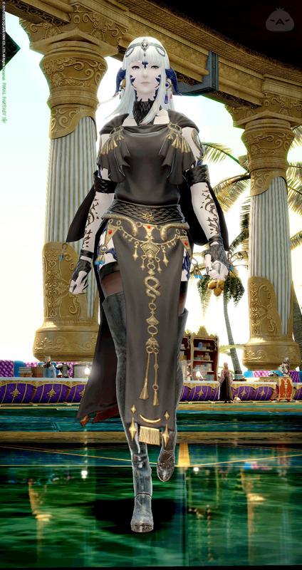 黒装束の巫女