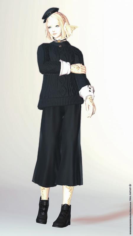 クラフターの冬服