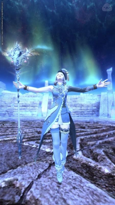氷上の魔導士