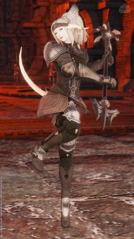 古典式黒の竜騎士